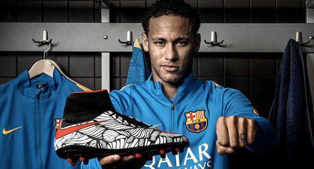 Actu Football et  transferts: Neymar JR dévoile la Hypervenom II de Nike Football ! (VIDEO)