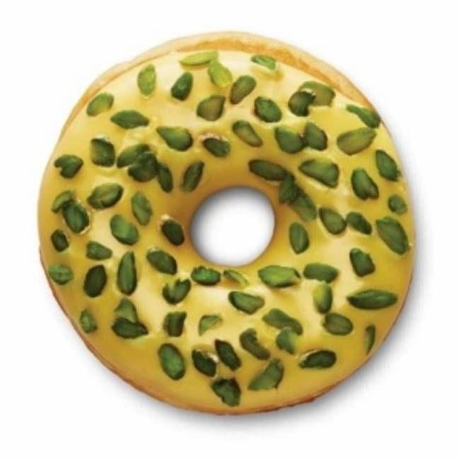 Saffron Pistachio Dunkin' Donut - India