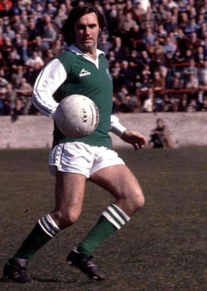 George Best in action for Hibs. Picture: SNS