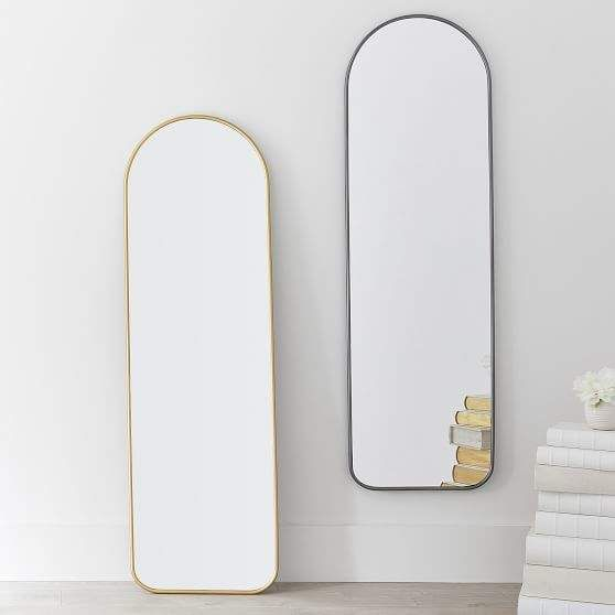 , Full Length Mirror Oval Top