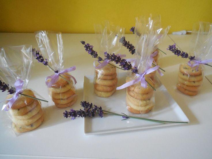 Sušenky s jemnou vůní levandule :: Dobroty s Renčou