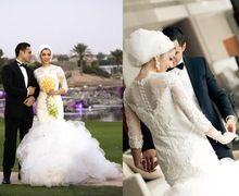 Mais novo Manga Comprida Muçulmanos Vestidos de Casamento Da Sereia 2016 Lace Apliques Pérolas Beading Tulle Trem Tribunal Hijab Dubai Vestidos de Noiva(China (Mainland))