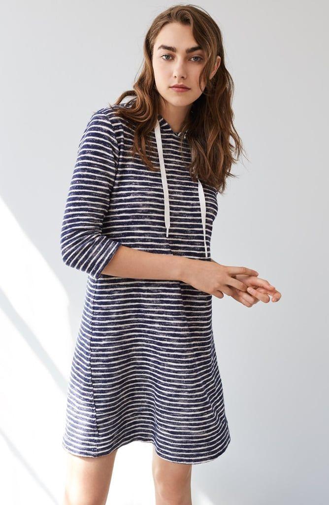c57c69693b2 Lou   Grey Pomona Stripe Hoodie Dress