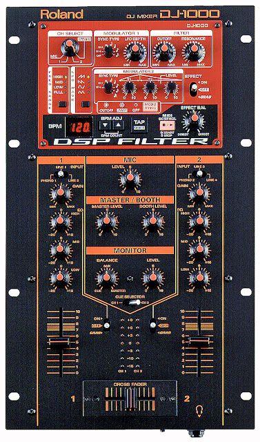 Roland DJ Mixer DJ-1000