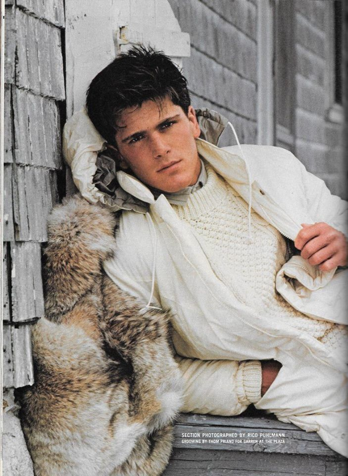 MICHAEL SCHOEFFLING GQ December 1981