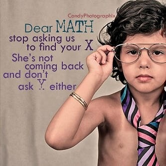 Truth. Algebra needs to grow up and accept the truth about X....