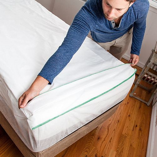 aFRESHeet (sizes twin XL & cot) contains seven layers of waterproof sheets you peel back & throw away after a week of use. Made to feel just like a cotton sheet, it's a comfortable and convenient alternative to making your bed like a regular person. **recyclable? Would be good for hospitals, eldercare**