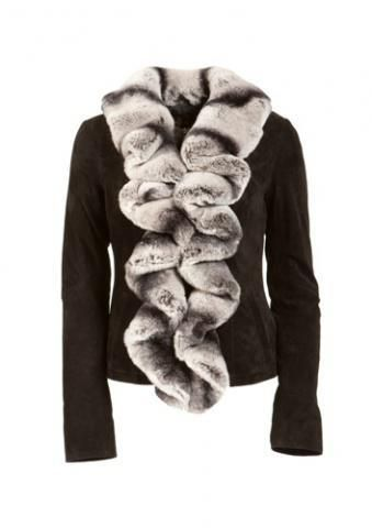 Замшевая куртка женская зимняя