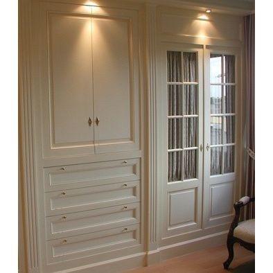 Closet Idea Traditional Closet    French Doors As Closet Doors