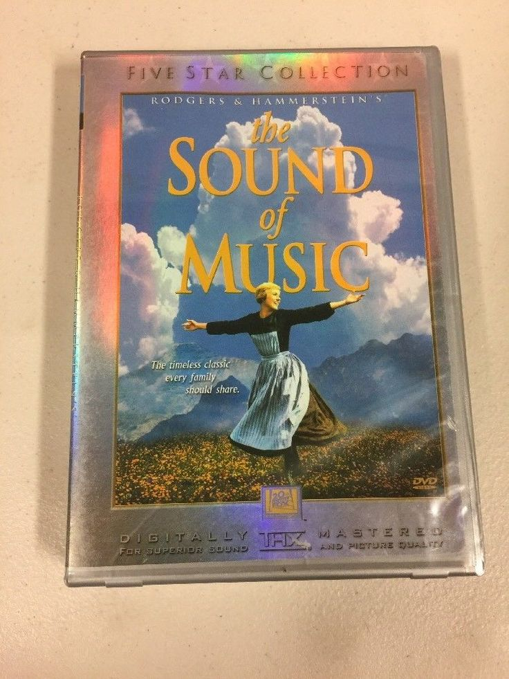 The Sound of Music (DVD, 2000, 2-Disc Set, Five Star Collection) 24543000372 | eBay