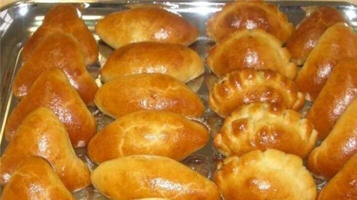 """Пирожки """"Пятиминутки"""" - рецепт """"кремлевского"""" повара. Лучшие рецепты для вас на сайте «Люблю готовить»"""