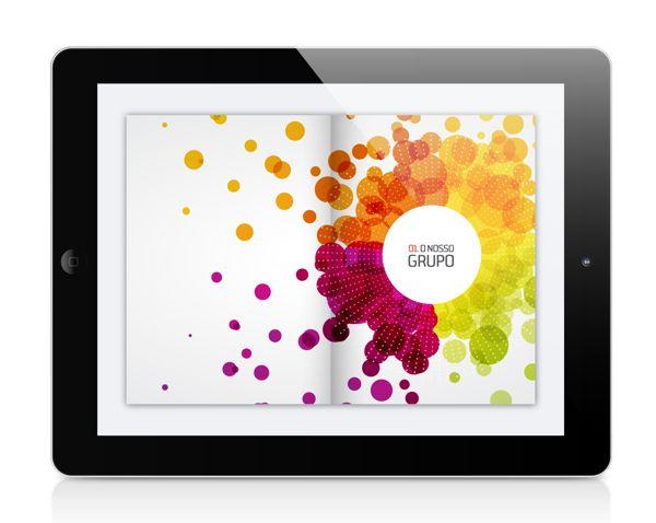 Sonaecom Annual Report on Behance