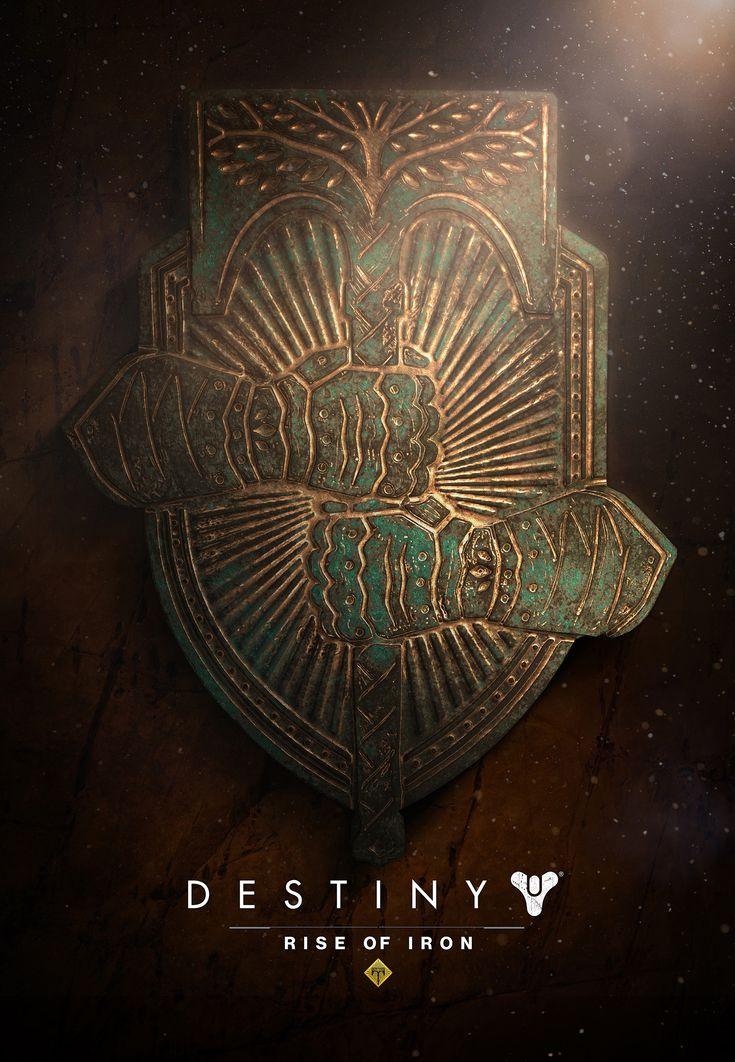 ArtStation - Destiny: Rise of Iron Sigil, Chelsea Velazquez