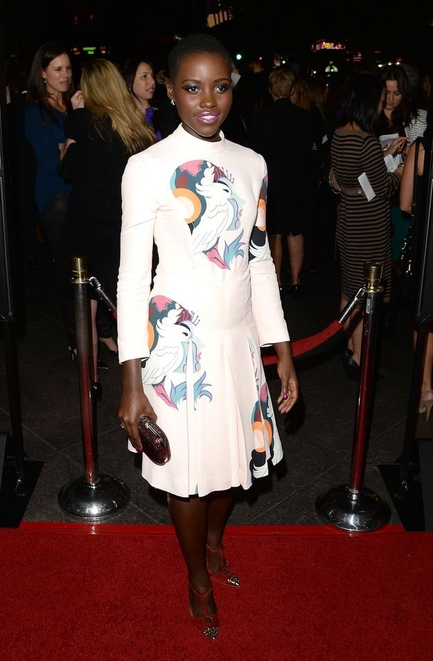 "But you should also know her as YOUR NEW FASHION IDOL AND A GODDESS WALKING AMONGST US. | Why ""12 Years A Slave"" Star Lupita Nyong'o Should Be Your New Fashion Idol"