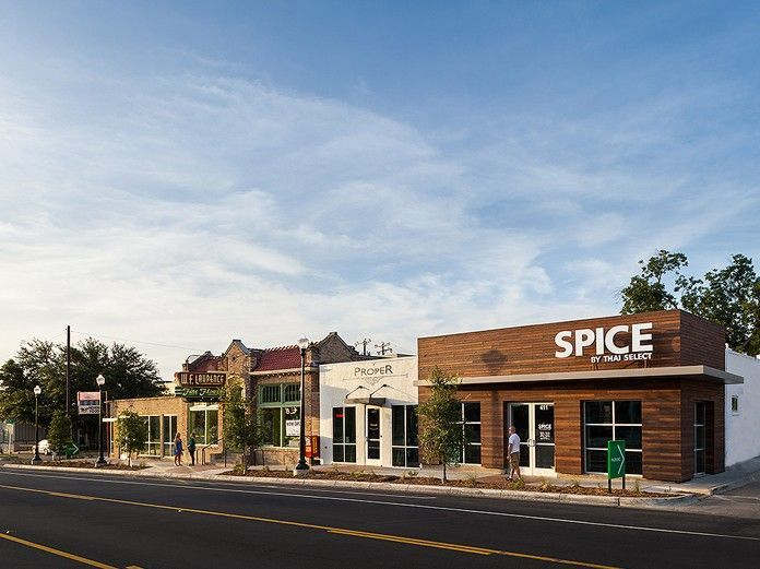 adaptive reuse of retail strip center - Google Search
