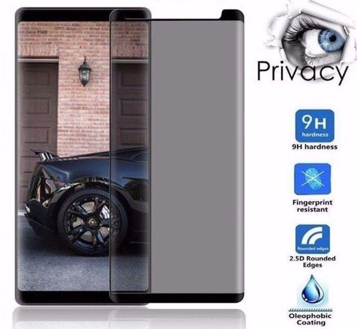 Protector de Privacidad Oscuro Pantalla Cristal Para Samsung Galaxy Note 8 N950 #UnbrandedGeneric