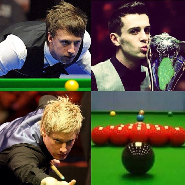 People think I'm weird for liking snooker but I think it's a really interesting sport. It's so relaxing to watch and some snooker players are absolutely gorgeous!   The top left is Judd Trump, top right is Mark Selby and bottom left is Neil Robertson   #snooker #themasters #uksnooker #snookeruk #juddtrump #markselby #neilrobertson