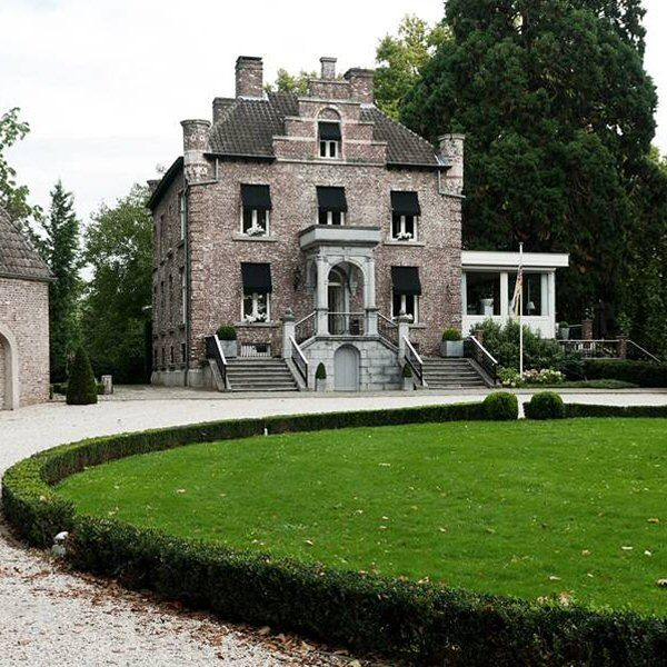 Kasteel Hattem (smallest castle in the Netherlands ). Present day an hotel.