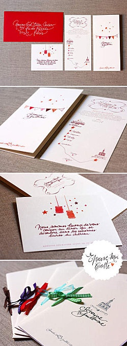 Wedding invitation_champêtre