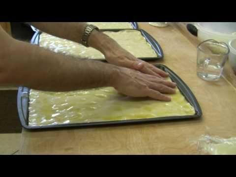 La Video Ricetta Passo-Passo della Focaccia Genovese Originale - YouTube