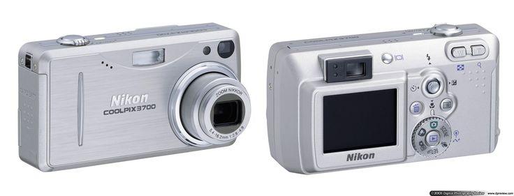 Nikon COOLPIX 3700 - My first ever digital camera.
