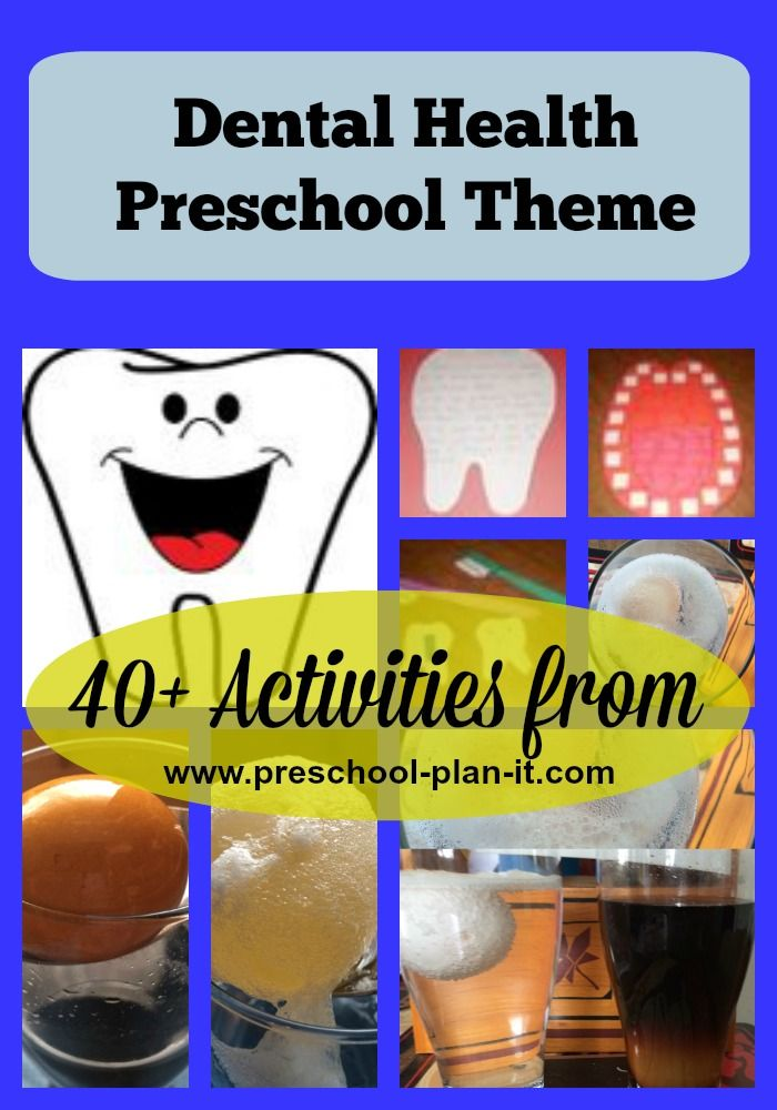 FREE Dental Health Preschool Theme! Over 40 activities for your preschool classroom!  There are at LEAST 1-2 week's worth of activities on this page!
