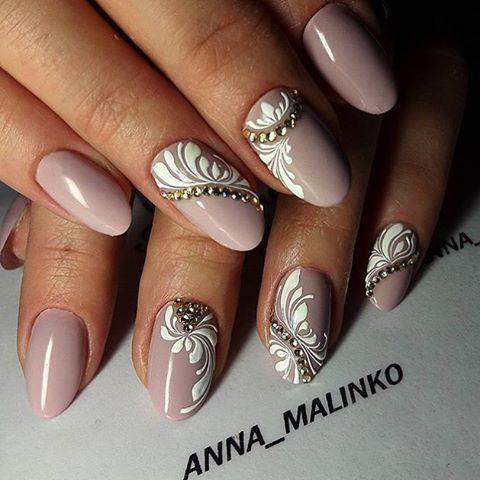 Дизайн цвета ногтей фото