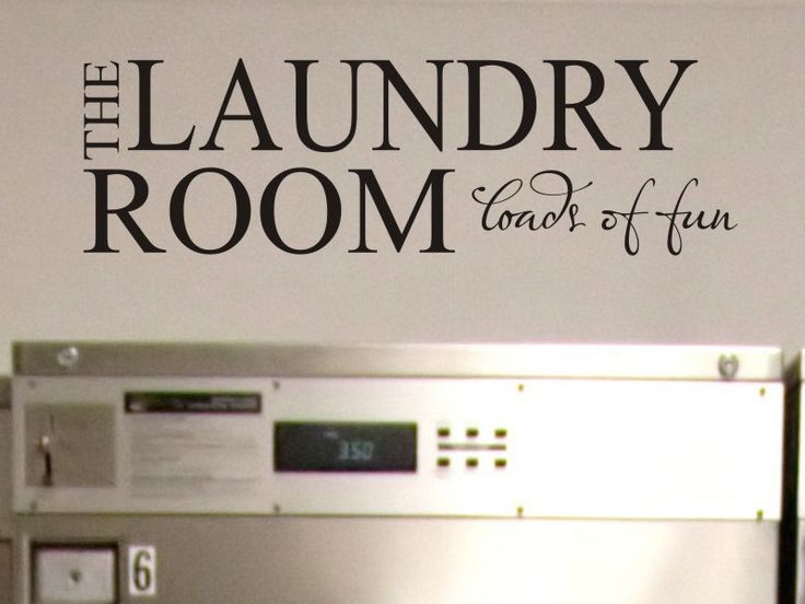 Laundry Room Wall Decor Stickers Best 25 Laundry Room Decals Ideas On Pinterest  Landry Room