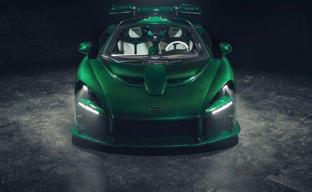 Emerald Green Carbon Senna Best Luxury Sports Car New Sports Cars Super Cars