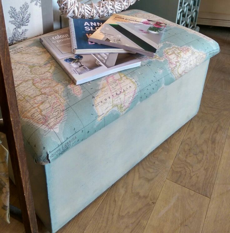 We love the new World Map fabric!