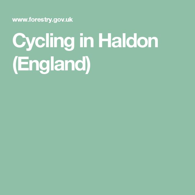 Cycling in Haldon (England)