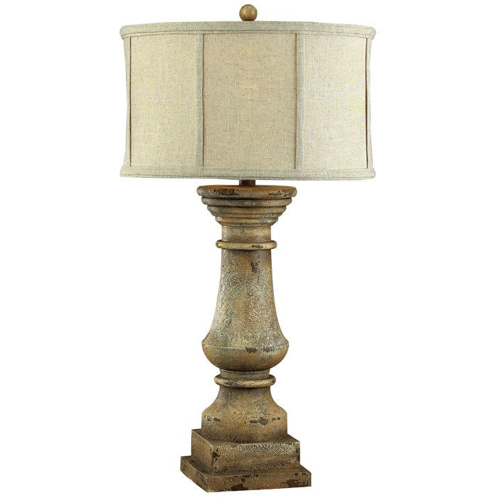 112 best lamps table buffet floor images on pinterest lamp column shaped table lamp with a distressed finish product table lamp construction material composite materials and fabric color monkstown distressed mozeypictures Choice Image