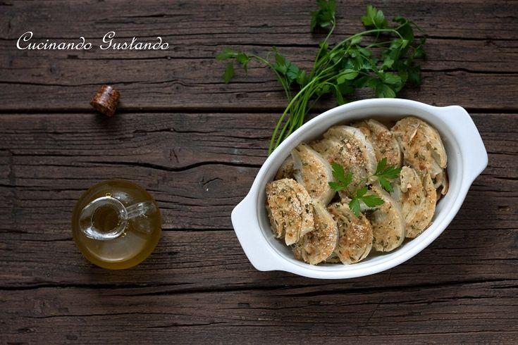 Finocchi+gratinati+al+forno