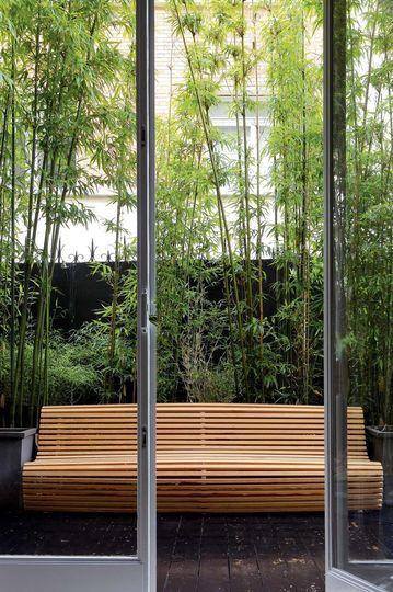 Appartement en rez de jardin une r novation r ussie paris a home is where the art is - Rez de jardin paris ...