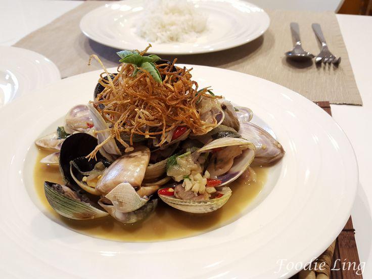 Asian style Chilli Clams Recipe