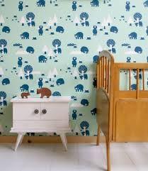 Afbeeldingsresultaat voor kinderkamer behang
