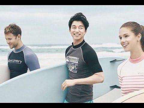 Gong Yoo Intimate with Model of  Discovery Expedition CF. Who is the Girl ?