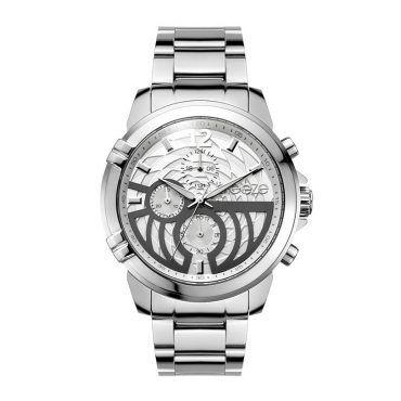 Γυναικείο μοντέρνο αδιάβροχo ρολόι BREEZE Stylegazer 610601.1 με sparkling καντράν και λουρί από λευκή σιλικόνη | Ρολόγια BREEZE ΤΣΑΛΔΑΡΗΣ στο Χαλάνδρι #breeze #stylegazer #μπρασελε #watches #ρολόγια