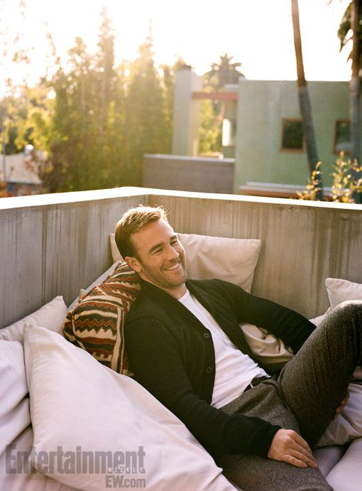 Just as wine, James van der Beek is getting just better with time. Parenthood simply suits him.