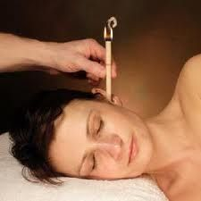 Ear Candling for sinus, earaches, headaches, congestion and hayfever