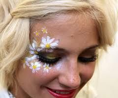 #daisies #facepaint #faceart