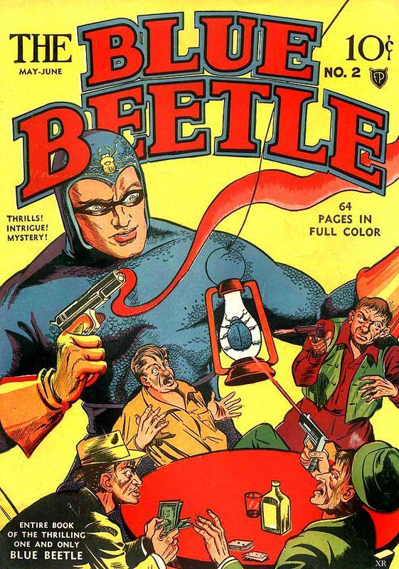 1949 ... Coleoptera in blue!