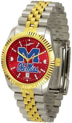Mississippi 'ole Miss' Rebels- University Of Executive Anochrome - Men's - Men's College Watches by Sports Memorabilia. $153.47. Makes a Great Gift!. Mississippi 'ole Miss' Rebels- University Of Executive Anochrome - Men's