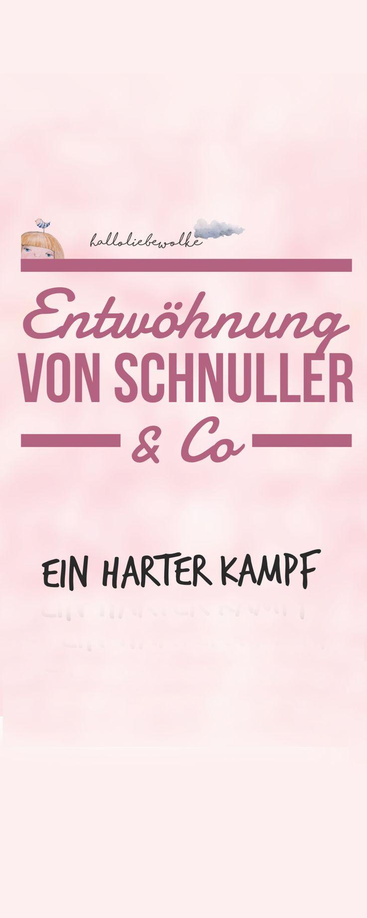 Entwöhnung von Schnuller & Co - das ist ein harter Kampf. Ob die Schnullerfee da helfen kann oder einfach nur Geduld und gute Nerven? Wie ich die Sache mit der Schnullerentwöhnung sehe und warum manche Dinge eben ihre Zeit brauchen... ;)