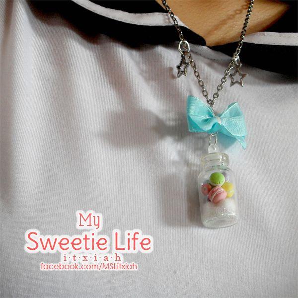 Kawaii Necklace ~ Sweet botle  https://www.etsy.com/es/shop/MSLItxiah