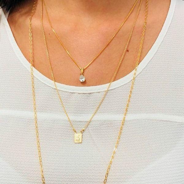 9de9b7d1967 Combinação super delicada de colar longo
