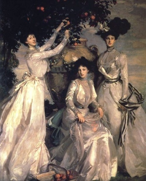 John Singer Sargent, Alexandra, Mary and Theo Acheson, (1902)