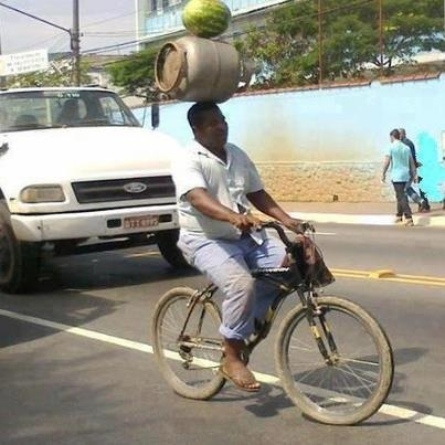 This is how we roll in Africa... Only in Africa