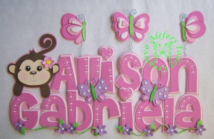 Banner en foami cumpleaños - Imagui