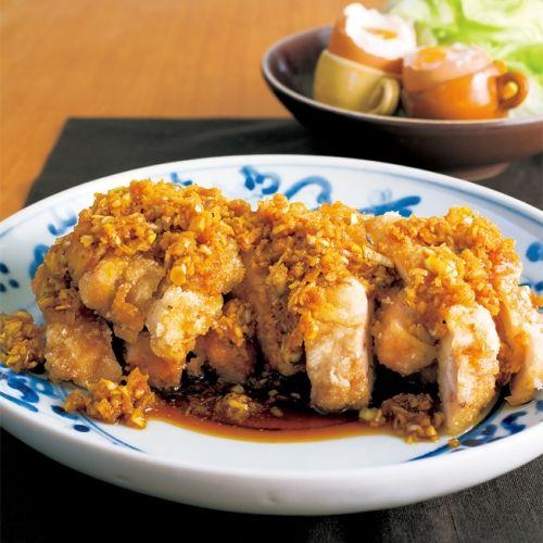 ねぎソースをたっぷりかけていただく、栗原はるみレシピの中でも人気No.1メニュー。